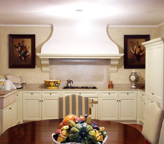 Cucine classiche a Brescia - Cucine in legno