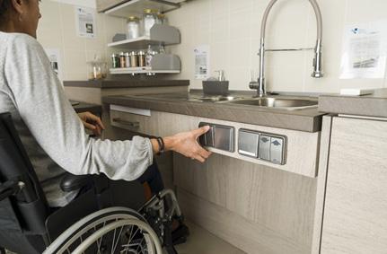 Cucina disabili cucine accessibili per disabili viem brescia - Cucine per disabili ...