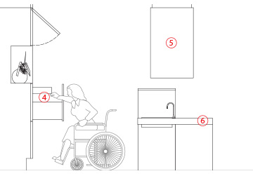 Cucine brescia viem mobili su misura a brescia - Cucine per disabili ...