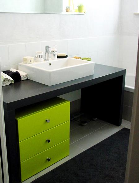 Mobili da bagno su misura mobiletti bagno a brescia - Mobile bagno laccato ...